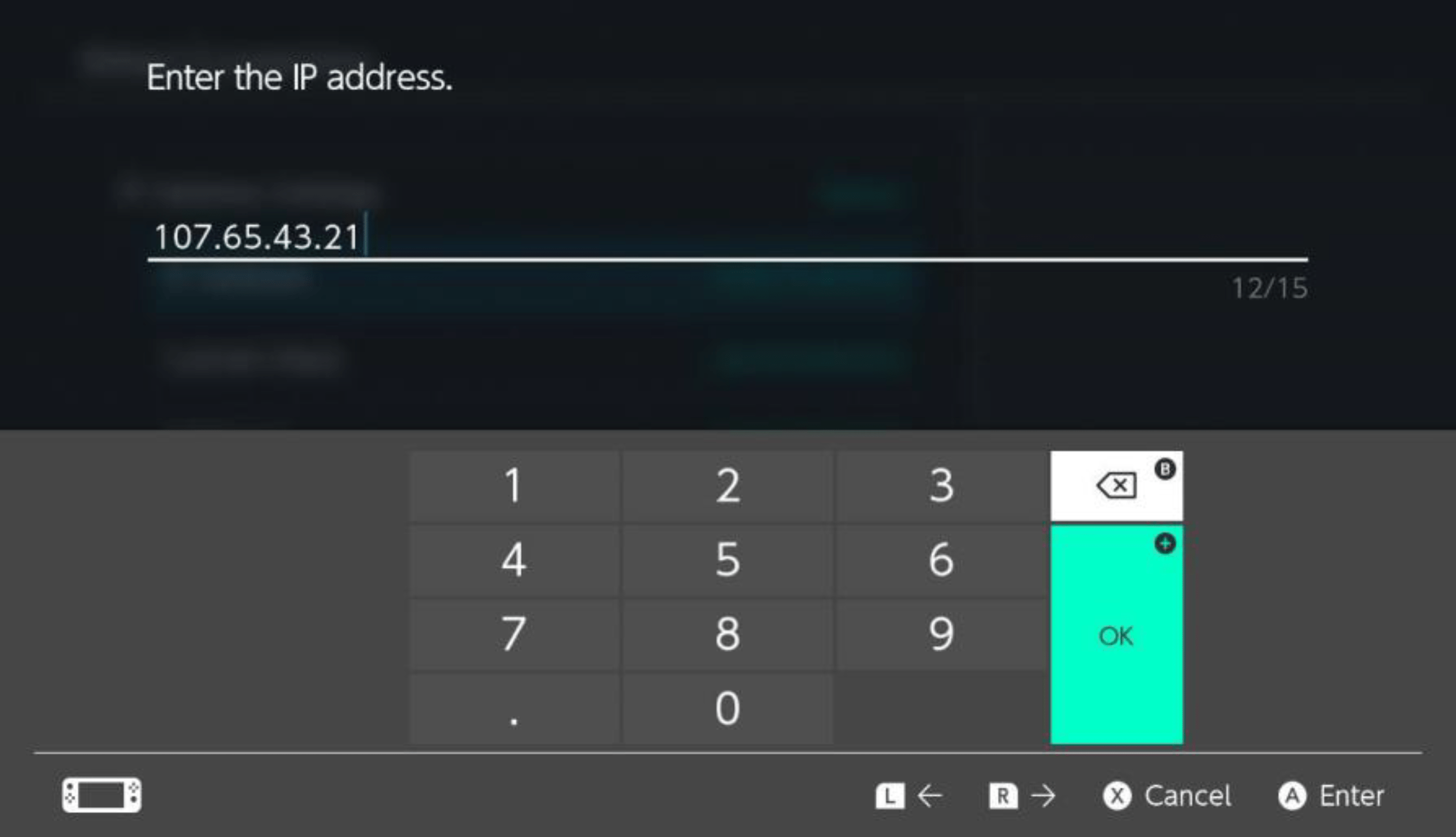 Step 6: Select 𝗜𝗣 𝗔𝗱𝗱𝗿𝗲𝘀𝘀 to set the IP address for the system. TPCi recommends constructing the IP address based on your Player ID.