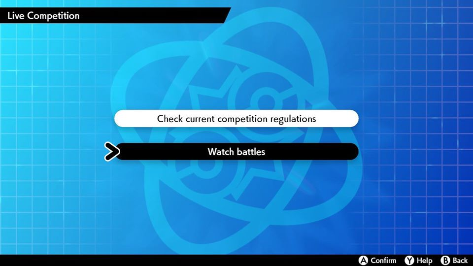 Step 4: Select 𝗪𝗮𝘁𝗰𝗵 𝗯𝗮𝘁𝘁𝗹𝗲𝘀. (if you are using LAN Mode, hold the 𝗟 button and 𝗥 button and then press the left stick in prior to selecting)